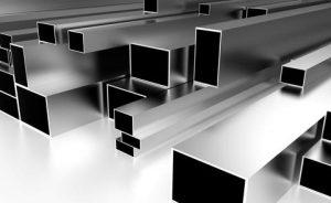 Nerezové profily, štvorcové a obdĺžnikové